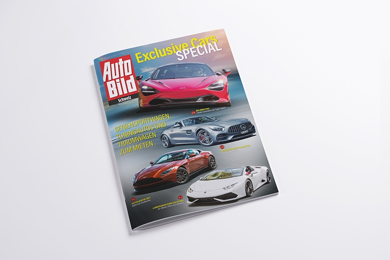 AUTO BILD Schweiz Exclusive Cars Special Slide